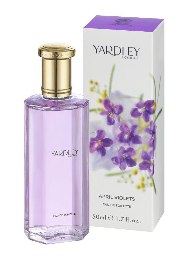 April Violets Eau de Toilette 50 ml Yardley EDT Veilchen